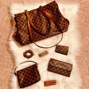 Louis Vuitton Centenaire Zip Tote & Accessories